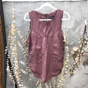 ISABEL MARANT ÉTOILE SLEEVELESS BLOUSE